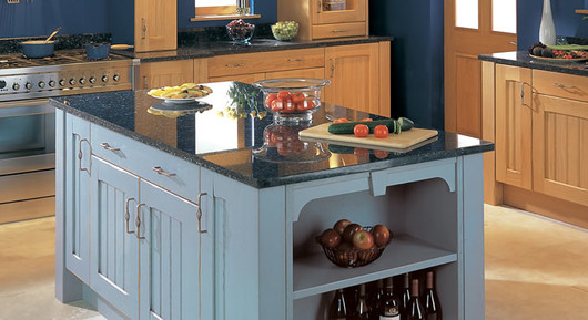 Marpatt Classic Collection - Lambris with Blue Island