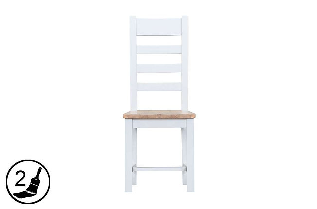 Settle Ladder Back Chair Wooden Seat
