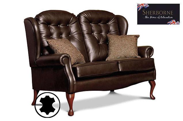 Sherborne Lynton Leather Standard Fireside 2 Seater Sofa