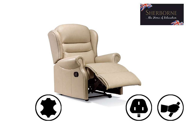 Sherborne Ashford Leather Small Recliner Chair
