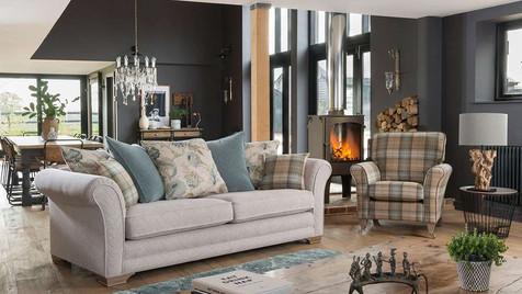 Monaco Grand Pillow Back Sofa & Accent Chair