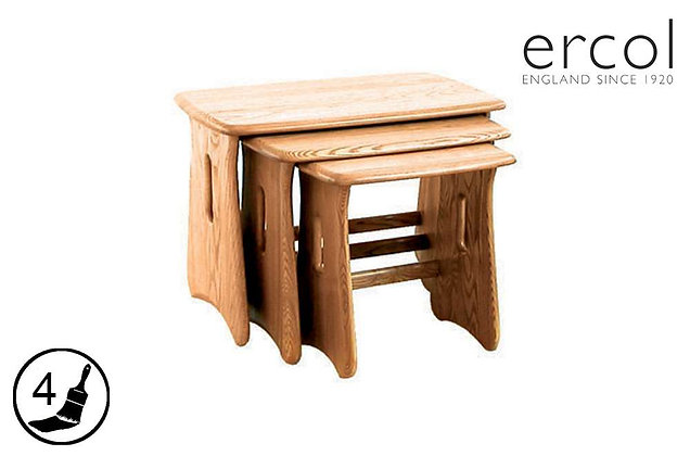 ercol Windsor Nest of 3 Tables