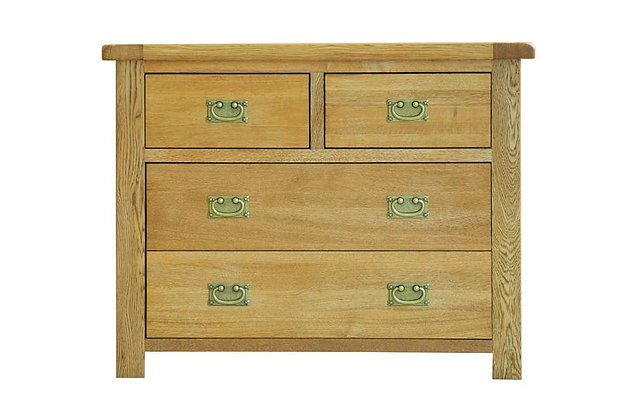 Rustic Charm 2 + 2 Drawer Chest