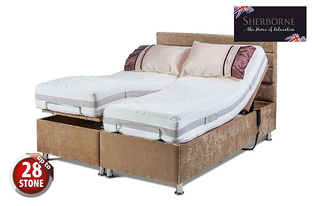 Sherborne Hampton 150cm King Size Head & Foot Adjustable Divan Bed