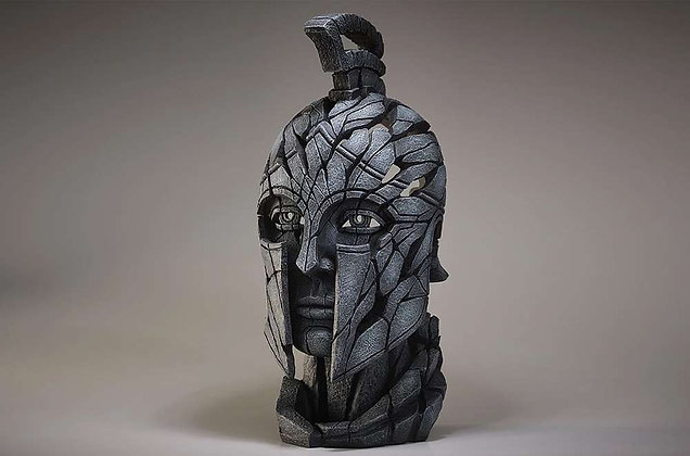 Edge Sculpture Spartan Bust - Slate