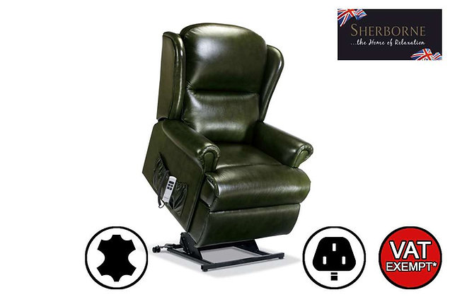 Sherborne Malvern Leather Royale Lift & Rise Care Recliner Chair