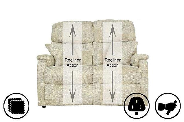 Athens 2 Seater Recliner Sofa
