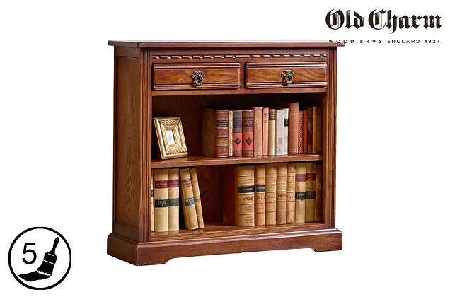 Old Charm Low Bookcase