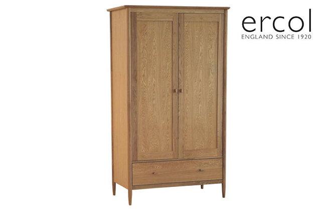 Ercol Teramo 2 Door, 1 Drawer Wardrobe