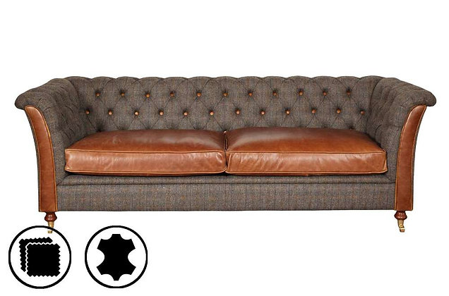 Heritage Nuffield 3 Seater Sofa