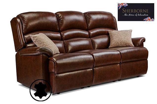 Sherborne Olivia Leather 3 Seater Sofa