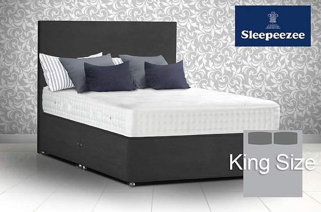 Sleepeezee Royal Backcare 1400 Super King SIze Divan Bed