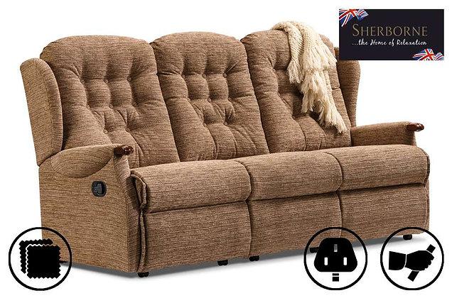 Sherborne Lynton Knuckle 3 Seater Recliner Sofa