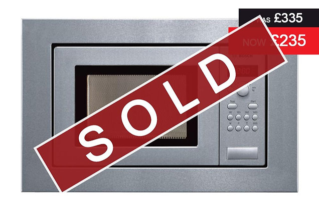 Bosch – Compact Microwave Oven (HMT75M651B)