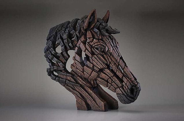 Edge Sculpture Horse Bust - Bay