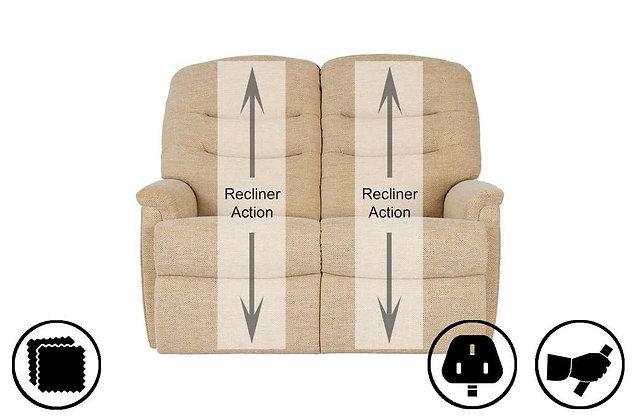 Corfu 2 Seater Recliner Sofa