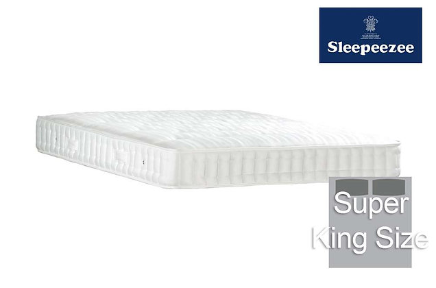 Sleepeezee Superfirm 1600 Super King Size Mattress