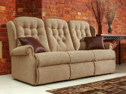 Sherborne Lynton Fabric 3 Seater Sofa | Gordon Busbridge Furniture | Hastings, Eastbourne, Seafrod, Bexhill, St Leonards on Sea