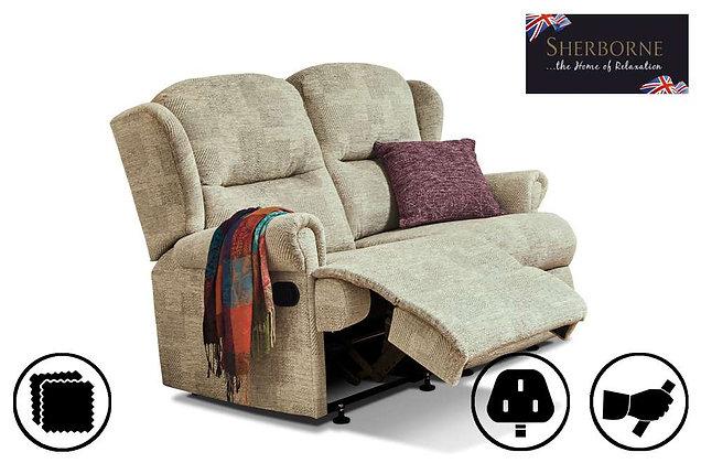 Sherborne Malvern Small 2 Seater Recliner Sofa