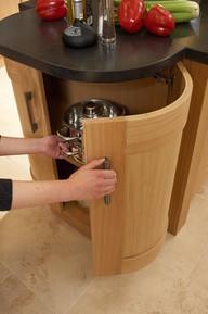 Marpatt Classic Collection - Monarch Oak  optional curved door detail