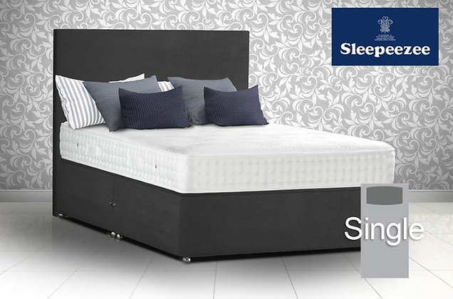 Sleepeezee Royal Backcare 1400 Single Divan Bed
