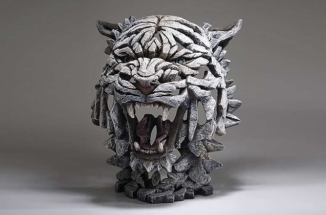 Edge Sculpture Tiger Bust - Siberian