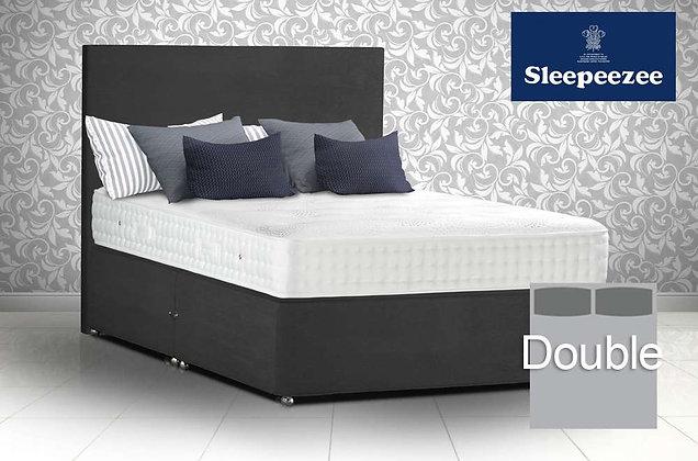 Sleepeezee Royal Backcare 1400 Double Divan Bed