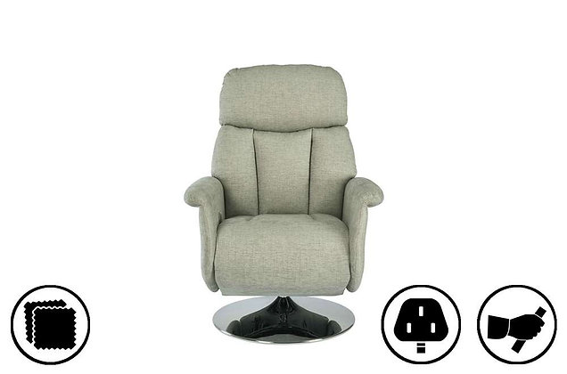 Oxford Petite Swivel Recliner Chair