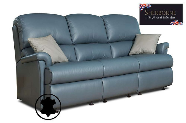Sherborne Nevada Leather 3 Seater Sofa