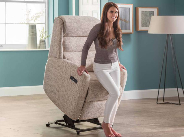 Crete Lift & Rise Recliner Chair | Gordon Busbridge Furniture & Beds Store | Hastings, Eastbourne, St Leonards on Sea, Bexhill & Seaford