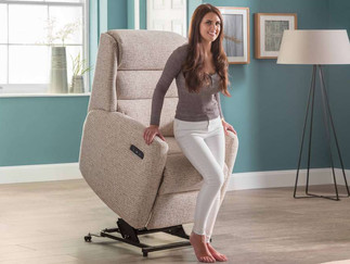 Crete Lift & Rise Recliner Chair   Gordon Busbridge Furniture & Beds Store   Hastings, Eastbourne, St Leonards on Sea, Bexhill & Seaford