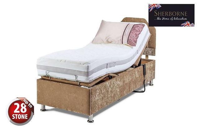 Sherborne Hampton 75cm Small Single Head & Foot Adjustable Divan Bed