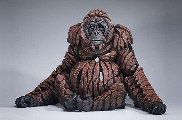 Edge Sculpture Orangutan Figure