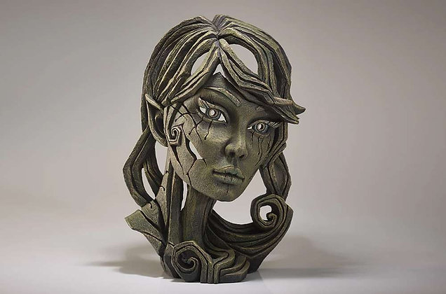 Edge Sculpture Elf Bust - Leaf