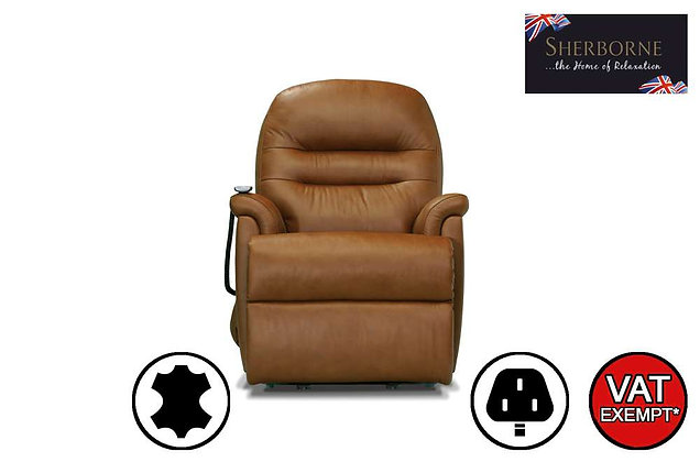 Sherborne Keswick Leather Small Lift & Rise Care Recliner Chair
