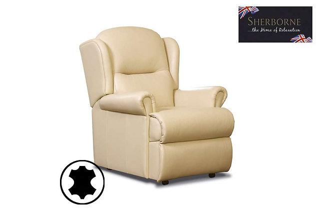 Sherborne Malvern Leather Small Armchair