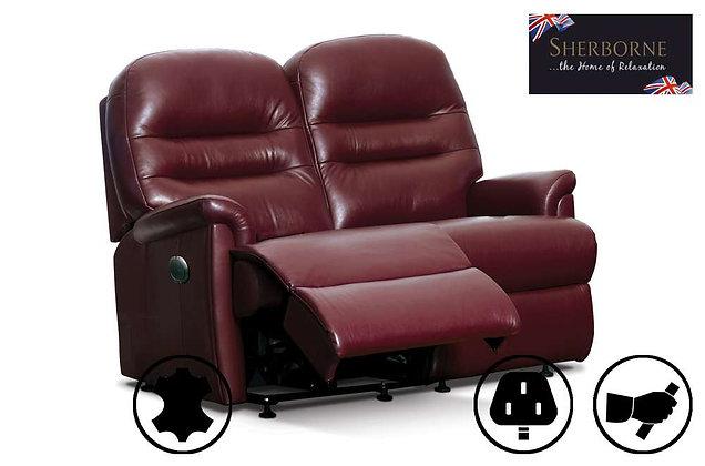 Sherborne Keswick Leather 2 Seater Recliner Sofa