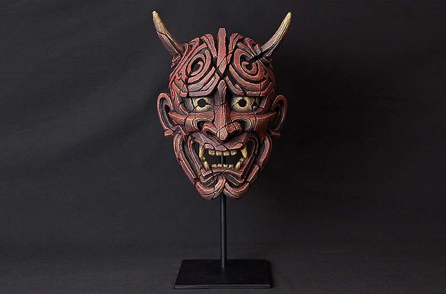 Edge Sculpture Japanse Hannya Mask