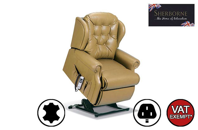 Sherborne Lynton Leather Petite Lift & Rise Care Recliner Chair