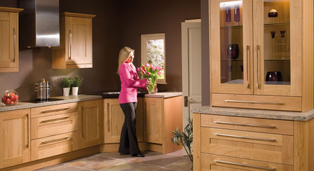 Marpatt Classic Collection - Mowbray in light Oak roomset lifestyle