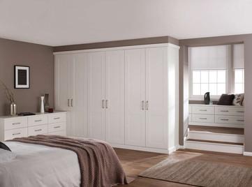 Hepplewhite Kingsbury roomset in White