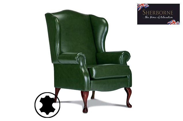 Sherborne Kensington Leather Chair