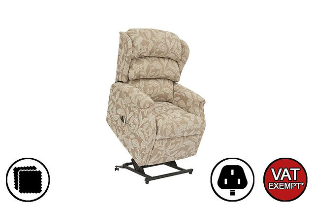 Rhodes Low Profile Lift & Rise Care Recliner Chair (No Grab Handles)