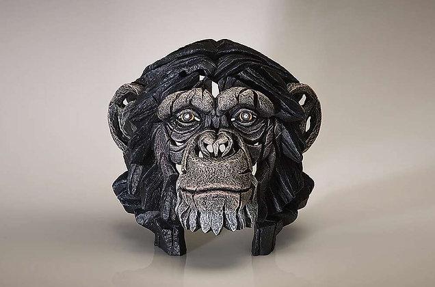 Edge Sculpture Chimp Bust