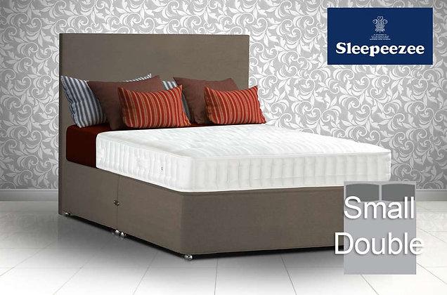 Sleepeezee Superfirm 1600 Small Double Divan Bed