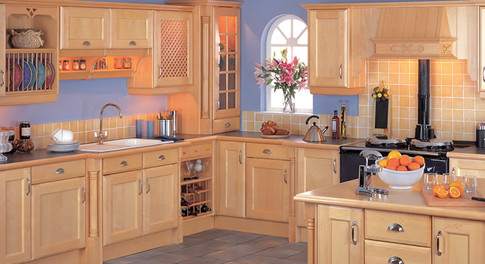 Marpatt Classic Collection - Corbiere Roomset in Natural Maple Wood
