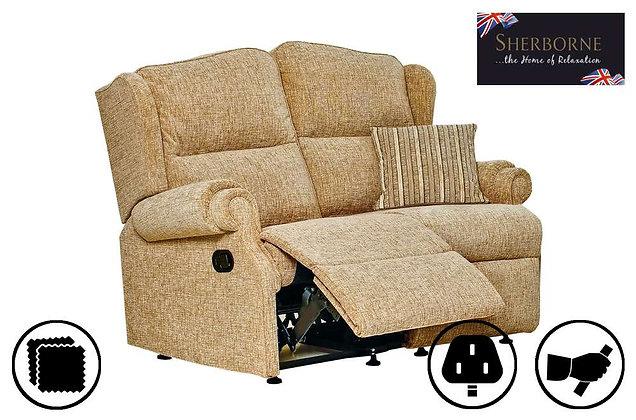 Sherborne Claremont 2 Seater Recliner Sofa