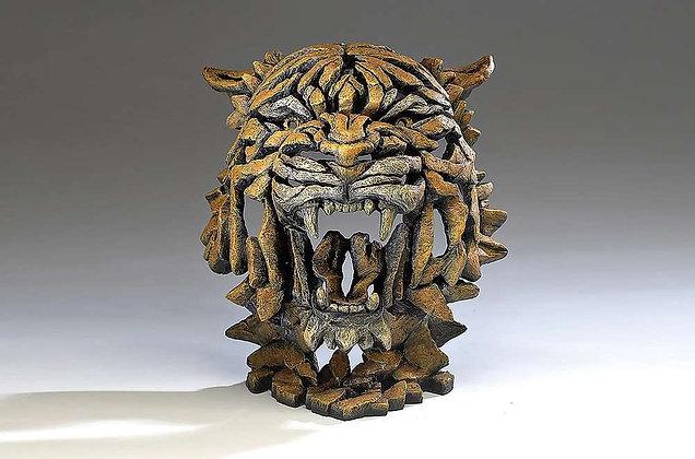 Edge Sculpture Tiger Bust