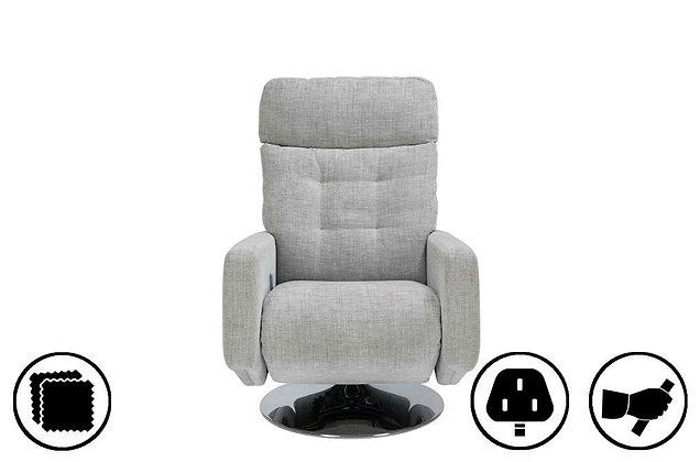 York Petite Swivel Recliner Chair