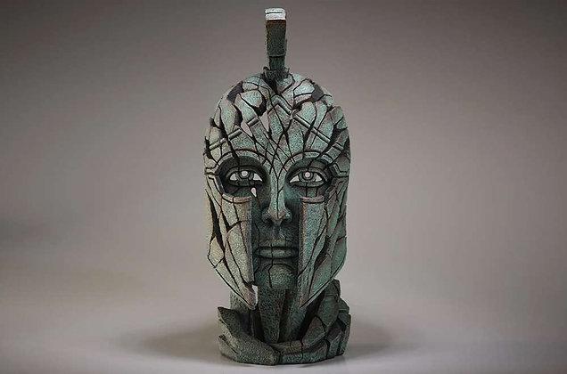 Edge Sculpture Spartan Bust - Verdi Gris